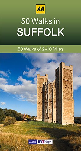 9780749575731: 50 Walks in Suffolk (AA 50 Walks series)