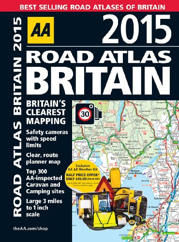 9780749576110: Road Atlas Britain 2015
