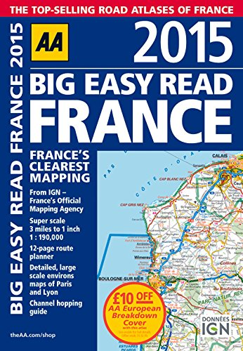 9780749576653: 2015 Big Easy Read France: France's Clearest Mapping