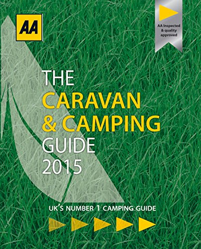 9780749576721: AA 2015 The Caravan & Camping Guide