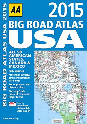 9780749576738: AA Big Road Atlas USA 2015