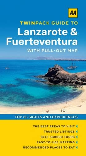 9780749576745: AA Twinpack Guide to Lanzarote & Fuerteventura (Aa Twinpack Guides)