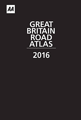 9780749576868: AA Great Britain Road Atlas 2016 (Leather)