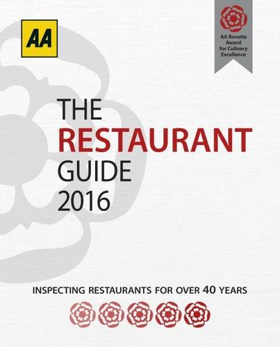 9780749577223: The Restaurant Guide 2016 (Aa Lifestyle Guides: Restaurant Guide)