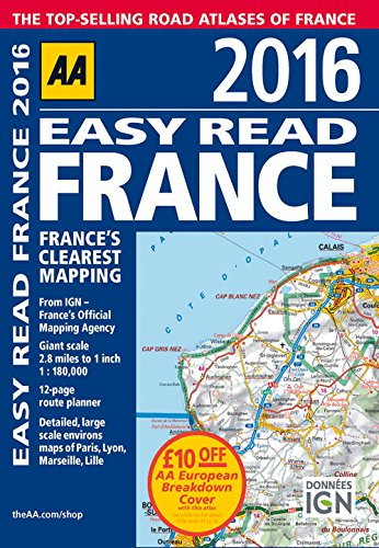 9780749577513: Easy Read France 2016 (Easy Read Guides)