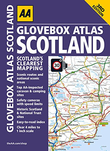 9780749577698: Glovebox Atlas Scotland (Aa Road Atlas)