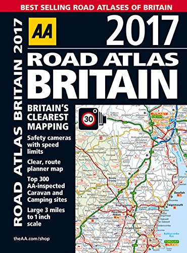 9780749577810: AA Road Atlas Britain 2017
