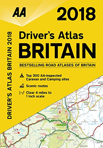 Driver's Atlas Britain 2018 FB: AA Publishing