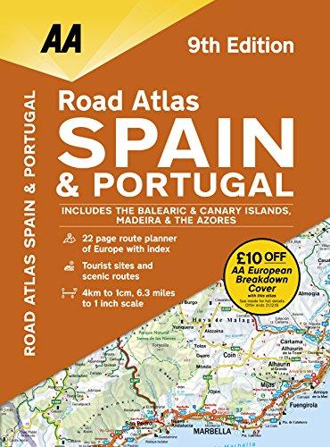 Road Atlas Spain & Portugal: Freytag