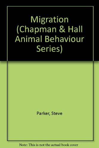 9780749607982: Migration (Chapman & Hall Animal Behaviour Series)