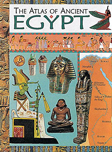 9780749643256: Atlas Of Ancient Egypt