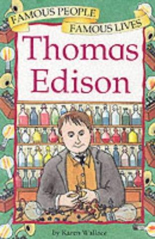 9780749643393: Thomas Edison (Famous People, Famous Lives)