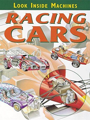 9780749650933: Racing Cars (Look Inside Machines)