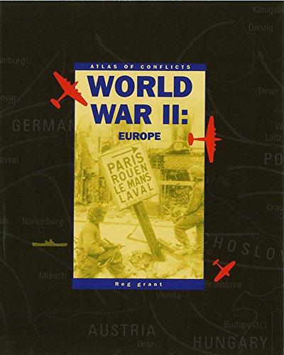 9780749654474: Ww2 - Europe (Atlas of Conflicts)