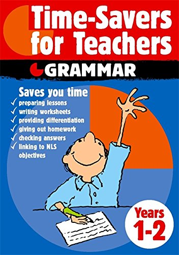 9780749657987: Time-savers for Teachers: Grammar Year 1-2: Years 1-2