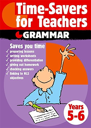 9780749658007: Time-Savers for Teachers : Grammar,Years 5-6