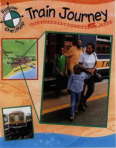 9780749661137: Train Journey (Follow the Map)