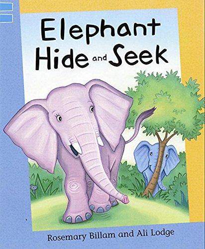 Reading Corner: Elephant Hide and Seek (0749665564) by Rosemary Billam