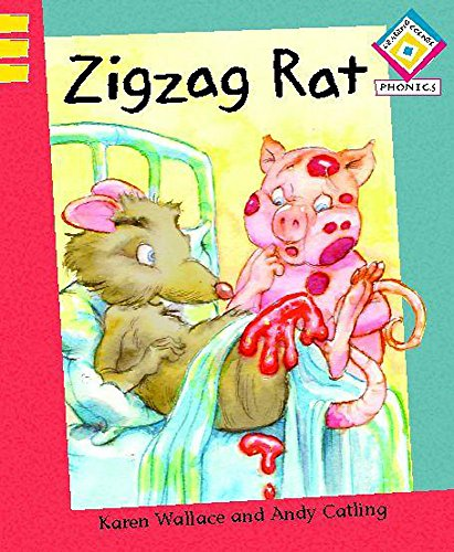 Zigzag Rat (Reading Corner Phonics) (9780749671273) by Karen Wallace