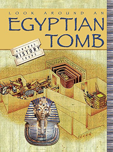 9780749671990: Look Around an Egyptian Tomb (Virtual History Tours)