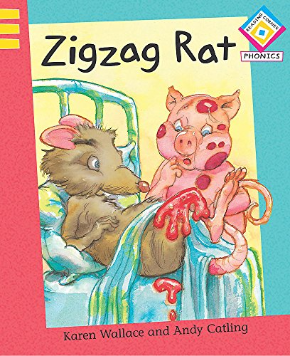 Zigzag Rat (Reading Corner Phonics) (9780749673130) by Karen Wallace