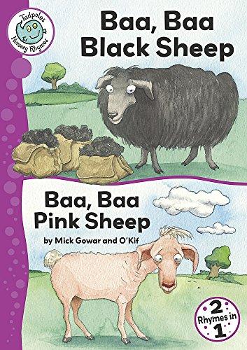 9780749680299: Baa, Baa Black Sheep / Baa, Baa Pink Sheep (Tadpoles Nursery Rhymes)