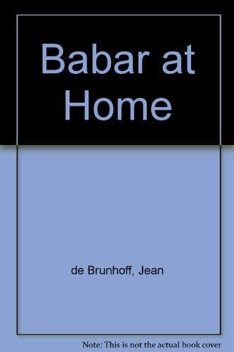 9780749706456: Babar at Home