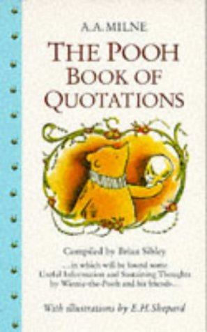 9780749712617: The Pooh Book of Quotations (Winnie-the-Pooh)