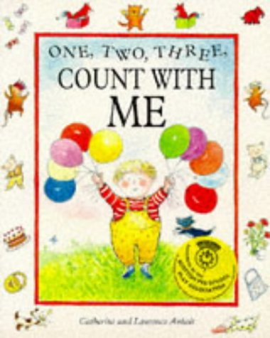 9780749719234: One, Two, Three, Count with Me