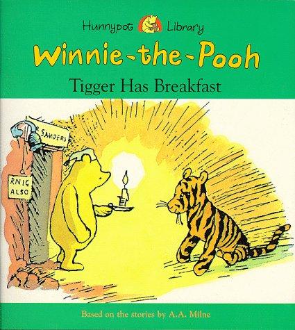9780749734954: Tigger Has Breakfast (Hunnypot Library)