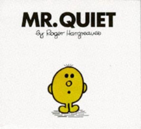 9780749800321: Mister Quiet (Mr. Men Library)