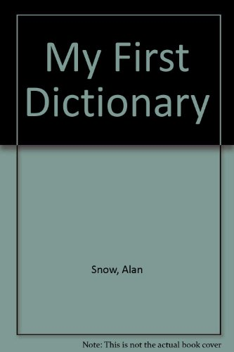 9780749804213: My First Dictionary