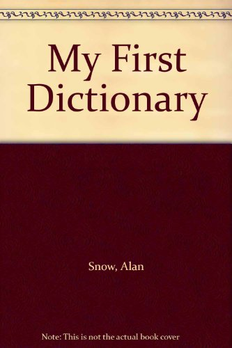 9780749804633: My First Dictionary