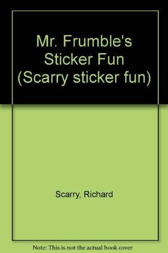 9780749807702: Mr. Frumble's Sticker Fun