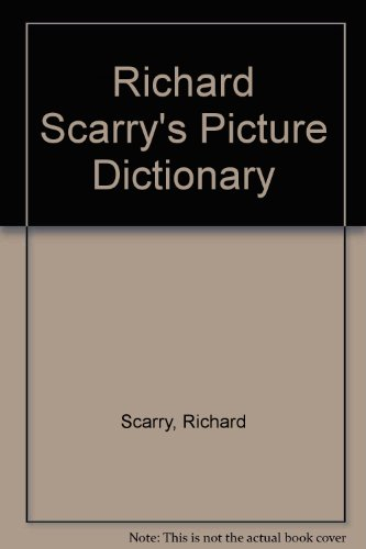 9780749818654: Richard Scarry's Picture Dictionary