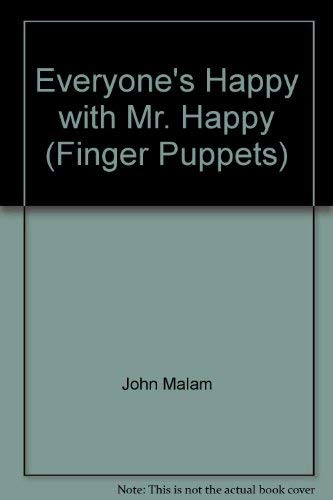 9780749831264: Everyone's Happy with Mr. Happy (Finger Puppets)
