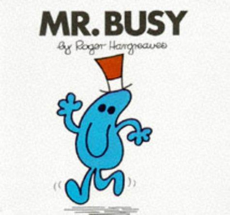 9780749832773: Mr. Busy (Mr. Men Hardbacks)