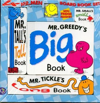 Mr Men 4 in 1 Books: Mr Happy (Mr Men Library) (9780749833329) by Hargreaves, Roger