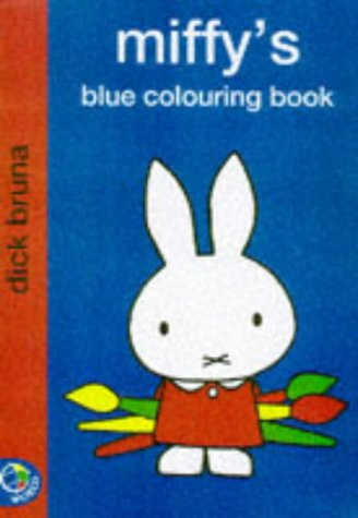 9780749837129: Miffy's Blue Colouring Book (Miffy Colouring Books)