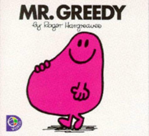 9780749838119: Mr. Greedy (Mr. Men Library)