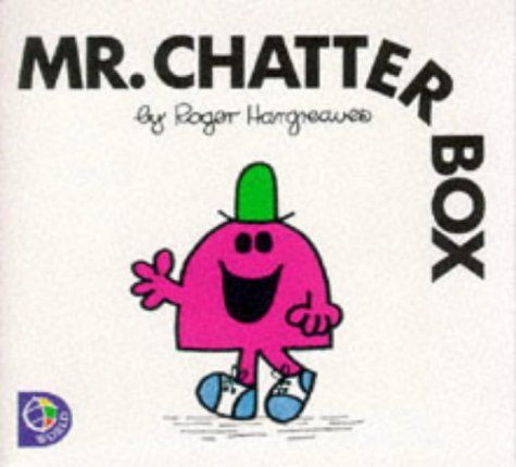 9780749838294: MR. CHATTERBOX (MR. MEN S.)