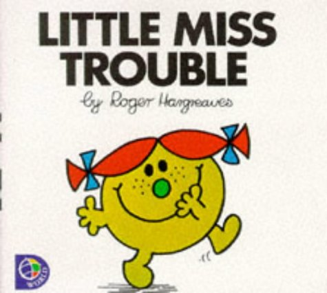 9780749838584: Little Miss Trouble (Little Miss Library)