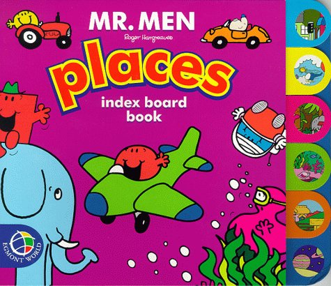 Mr. Men Places (Mr. Men Tab Index Books) (0749846429) by Hargreaves, Roger