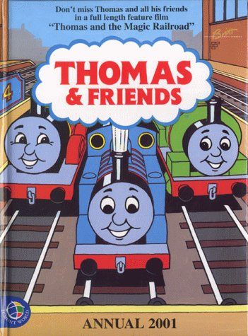 9780749848613: Thomas the Tank Engine and Friends Annual 2001