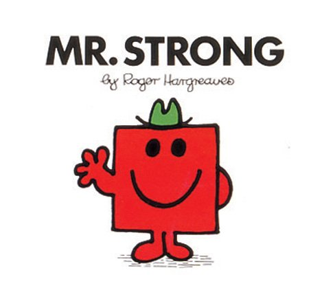 9780749852078: Mr strong (Mr. Men Library)