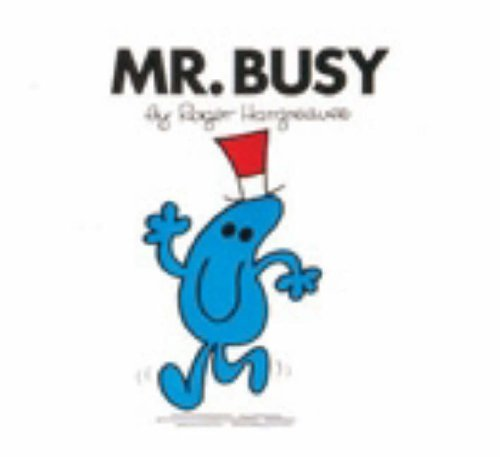 9780749852191: Mr. Busy (Mr. Men Library)