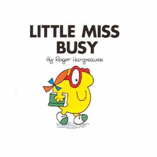 9780749852436: Little Miss Busy (Little Miss Library)