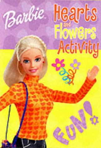 9780749854201: Barbie Hearts and Flowers Activity Pad