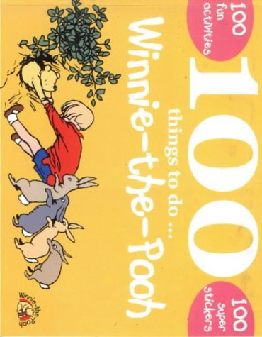 100 Things To Do With Winnie The Pooh.100super Stickers Still In Place