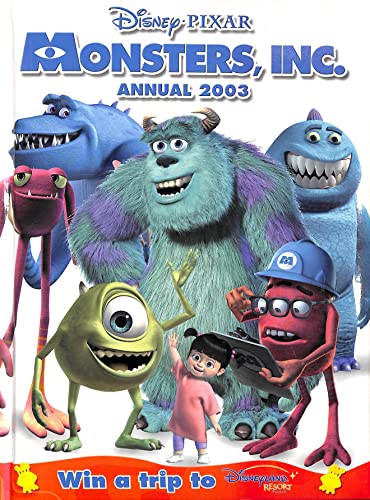 9780749856359: Monsters Inc Annual 2003